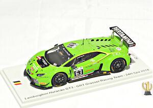 1:43 Spark SB287 Lamborghini Huracán GT3, 24hrs Spa 2016, Grasser Racing #63