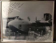 Howard Hughes' Hercules, AKA Spruce Goose 1947 Harbor Photo 17x21