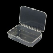 Plastic Transparent Storage Box Multipurpose Collection Display Organizer Case