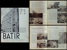 BATIR N°71 1938 ALVAR AALTO, MICHEL POLAK, RHODE ST GENESE, WOLFF, INR DIONGRE