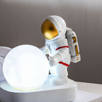 1pc Creative Resin Night Lamp Astronaut Appearance Night Lamp Desktop Decor