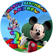 MICKEY MOUSE Clubhouse Edible Party Decoration CAKE Image Icing Topper