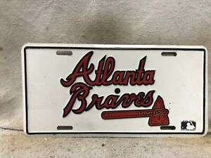 Atlanta Braves Booster License Plate