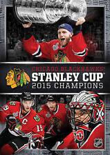 2015 Stanley Cup Champions (DVD, 2015) Chicago Blackhawks   BRAND NEW