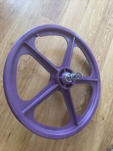 Skyway Tuff Wheel 2—Purple rear wheel new