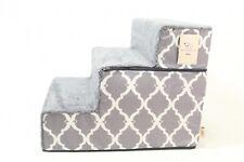 Best Pet Supplies - Dark Grey with Lattice Print Foldable Pet Foam S  - Preowned