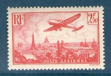 TIMBRE PA 11 NEUF ** GOMME ORIGINALE - AVION SURVOLANT PARIS - (#3)