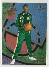 Bill Russell 2013-14 Fleer Retro - Ultra POWER IN THE KEY Insert - 1:83 packs!