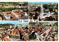 CP 38 ISERE - La Tour-du-Pin - Multivues colorisées