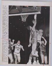Oscar Robertson Wire Photo Broke College Record 7x9 2/6/60 Fair Condition