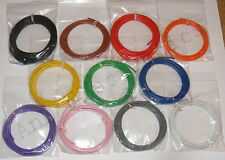 28m 24/0.2mm 18-19 AWG  Equipment Wire Pack  11 Colours- 0.75mm2 - 1000v - 4.5A