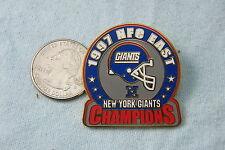 WILLABEE & WARD PIN 1997 NFC EAST NEW YORK GIANTS CHAMPIONS