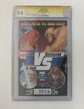 AVX: VS #3 (Marvel 2012) Avengers vs. X-Men CGC 9.8 Variant Ed. Signed Dodson