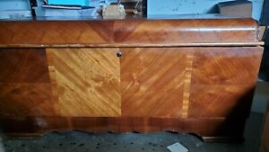 Antique Vintage Lane Cedar Hope Chest Lock Removed With Original Tags 1940