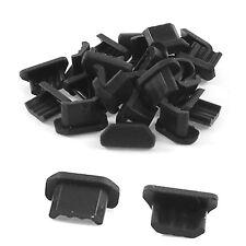 50PCS Anti Dust Soft Plastic Dock Cover Micro USB Port Ear Jack New Fashion GUT