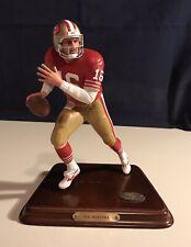 Joe Montana 49ers Danbury Mint Nfl All Star Figurines