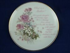 Lasting Memories What is a Mother Decorative Plate Porcelain