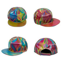 Back to the Future Marty McFly Cap Hat Licensed Rainbow Color Changing Hat Cap