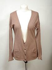 L130/27 Gap Soft Cotton Light Cocoa Cardigan , size S