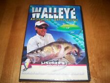 WALLEYE ARTIFICIAL INTELLIGENCE Al Lindner's Angling Edge Fishing DVD SEALED NEW