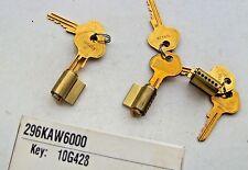 3   MASTER lock  PADLOCK cylinders  # 296KAW6000  with 6 keys # 10G428