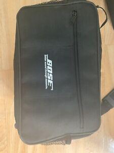 Official Bose SoundDock iPod Dock Black Carry Bag Case With Shoulder Strap