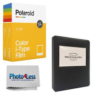 Polaroid Color Film for i-Type Double Pack (16 Exposures) + Album + Cloth