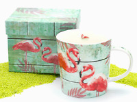 PPD Trend Mug Becher Porzellan Summer Flamingos 350 ml