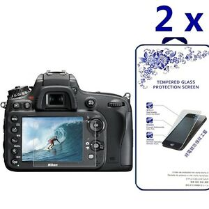 [2x] Tempered Glass Screen Protector For Nikon D500/D600/D610/D7100/D7200