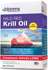 Blooms Wild Red Krill Oil Cap X 60