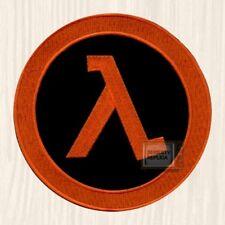 Half-life Logo Embroidered Big Patch Lambda Black Mesa Corp Gordon 2 Orange