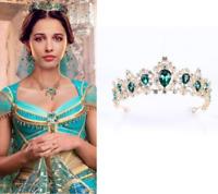 2019 Aladdin Jasmine Princess Cosplay Costume Headwear Crown Accessories Prop