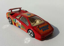 Burago Lamborghini Diablo 1/43 Donald Duck Speed Machines Macchina Car Vintage