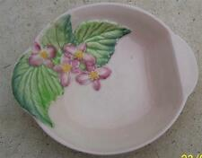 VINTAGE CARLTON WARE PINK  APPLE BLOSSOM PIN OR BUTTER DISH