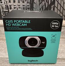 NEW Logitech C615 HD Portable Webcam 1080p Autofocus 360 Video Stream Camera 🎥