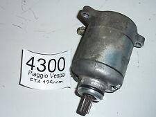 4300 Piaggio ET 4, Vespa, 125 ccm, Bj 00, Anlasser