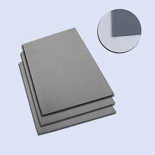 8 Pcs A4 Gray Rubber Sheet 2.3mm Sign-making Laser Cutting Engraving Stamps New