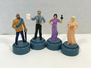 Clue FX Board Game Replacement Pieces 4 Token Movers Pawns