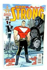 Tom Strong #1 Spouse Variant Alan Moore 1999 America's Best Comics Wildstorm Vf