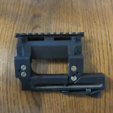Quick Release Detachable Scope Mount, Side Rail for picatinny Weaver