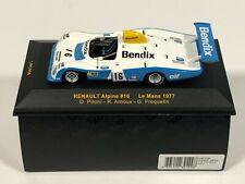 IXO MODELS LMC058 Renault Alpine A442 #16 24h Le Mans 1977 Pironi Arnoux 1/43
