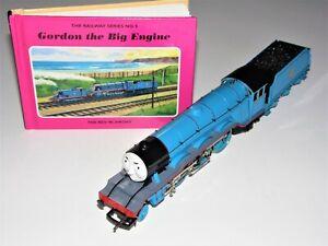 "Hornby R383  Thomas & Friends The Big Blue Engine ""GORDON"" No 4 VGC Runs Well"