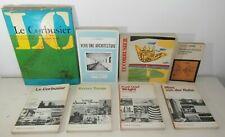 Raro 8 libri architettura Le Corbusier Tange Wright Mies Van de Rohe Bruno Zevi