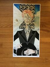 David Bowie Print by Sara Richard