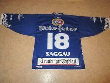Straubing Tigers IceGear Design Reebok Trikot 2006/07 + Nr.18 Saggau Gr.XL TOP