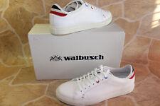 walbusch herren marina leder sneaker weiß  Gr. 42