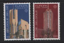 Belgium SG 2910-2911 Europa Architecture 1987 Unmounted Mint MNH