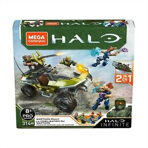 MEGA CONSTRUX HALO INFINITE WARTHOG RALLY 2 IN 1 MODEL 314 PIECES AGE 8+ GNB25
