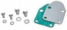 FUEL PUMP BLOCK-OFF KIT S.B.Chevrolet chrome 265 to 400 42463 gasket & bolts