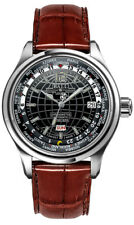 GM1020D-L1CAJ-BK | BRAND NEW BALL TRAINMASTER WORLDTIME MEN'S CASUAL WATCH